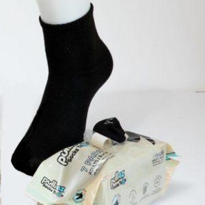 מארז 7 זוגות גרבי בוגרים פוליז ToGo, צבע שחור